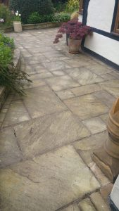 Sandstone Patio cleaning Worcester