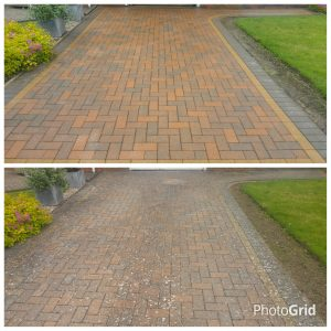 Block paving cleaning pershore